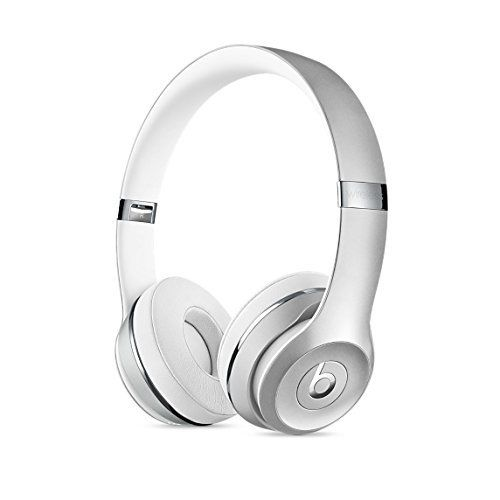 Daily Steals-Beats by Dr. Dre Beats Solo3 Wireless Bluetooth On-Ear Headphones-Headphones-Silver-