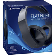 Casque de jeu Sony Platinum Wireless 7.1 Surround Sound pour PlayStation 4-