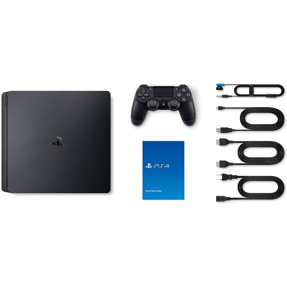 Daily Steals-Sony PlayStation 4 Slim 1TB Console - Jet Black-VR and Video Games (refurbished)-
