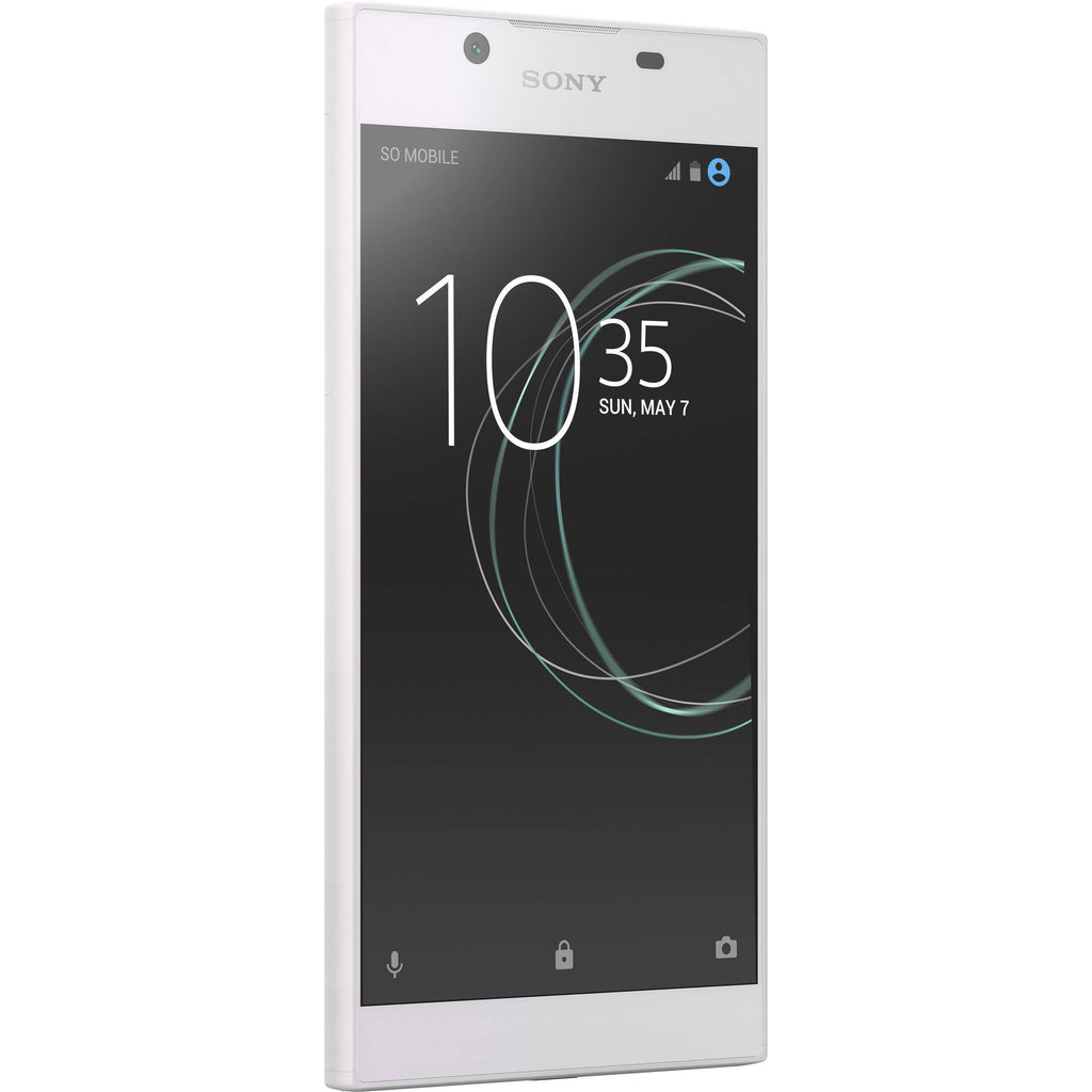 Daily Steals-Sony Xperia L1 G3313 16GB Unlocked GSM Quad-Core Android Phone - White-Cellphones-