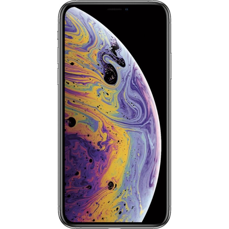 Apple iPhone XS Factory Unlocked Smartphone-Silver-64GB-Daily Steals