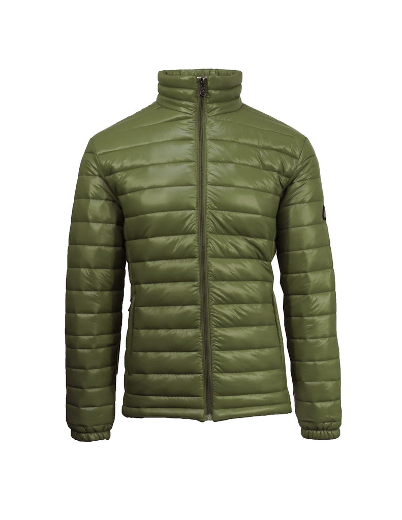 Daily Steals-Men's Lightweight Slim Fit Puffer Jackets-Men's Apparel-Olive-Small-