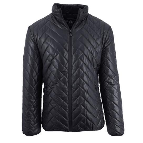 Daily Steals-Men's Quilted Puffer Jacket-Men's Apparel-Black-Large-