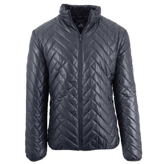 Daily Steals-Men's Quilted Puffer Jacket-Men's Apparel-Grey-Large-