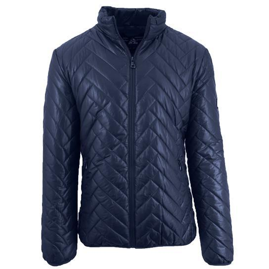 Daily Steals-Men's Quilted Puffer Jacket-Men's Apparel-Navy-Large-