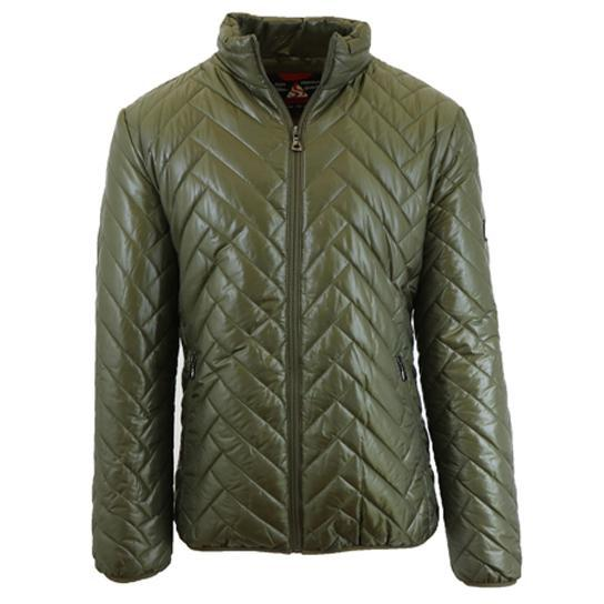 Daily Steals-Men's Quilted Puffer Jacket-Men's Apparel-Olive-Large-