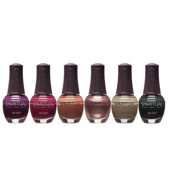SpaRitual Here and Now Nail Polish - Assorted Colors - 6 Pack-Daily Steals