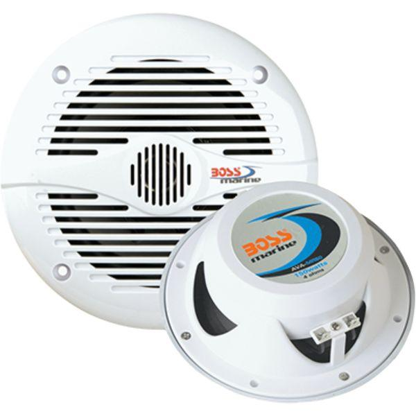 "Daily Steals-Speakers, 6.5"" 2-Way, 200 Watt, White By Boss Audio-Speakers-"
