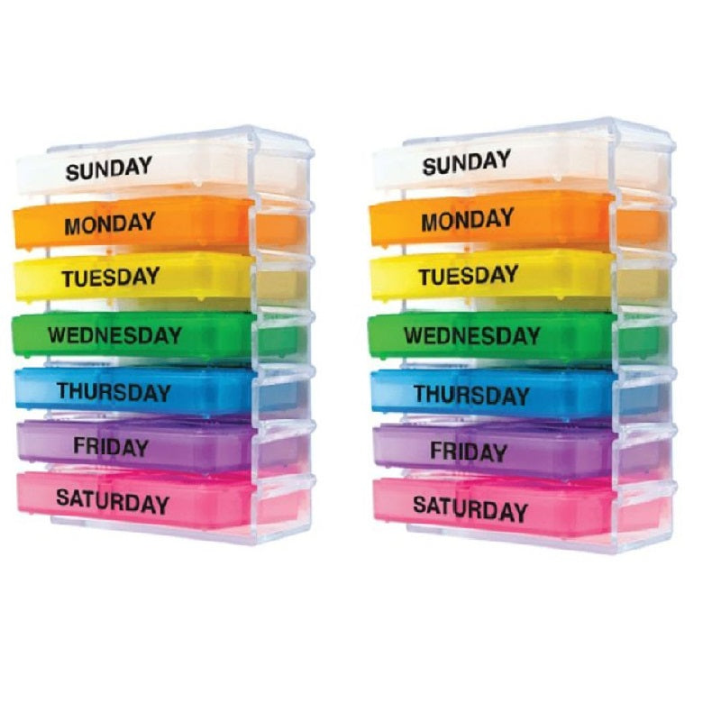 Spec Pill Seven-Day Pill Organizer System - 2 Pack-Daily Steals