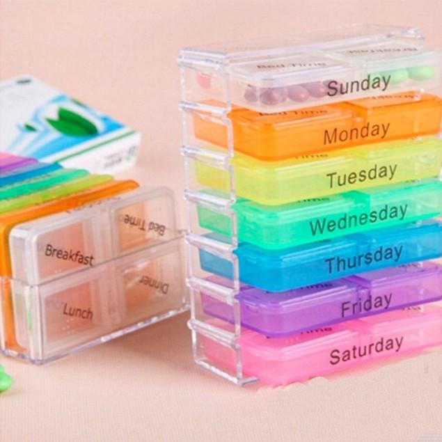 Daily Steals-Spectrum Pill Organizer System-Health and Beauty-