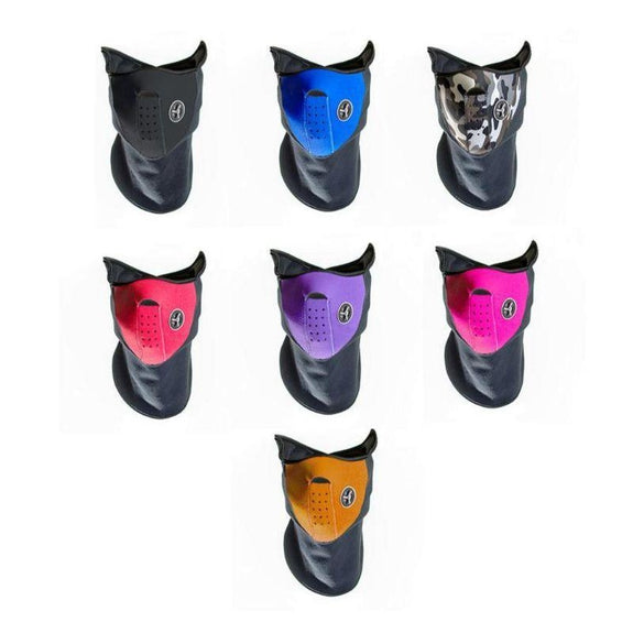 Sport Force Neoprene Neck and Face Mask - 3 Pack-Daily Steals
