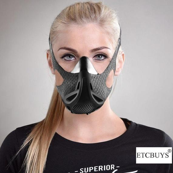 Daily Steals-Sport Workout Training Altitude Mask-Mask-
