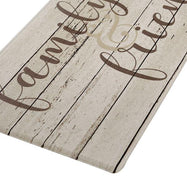 Spring Inspirational Oversized Kitchen Mat-