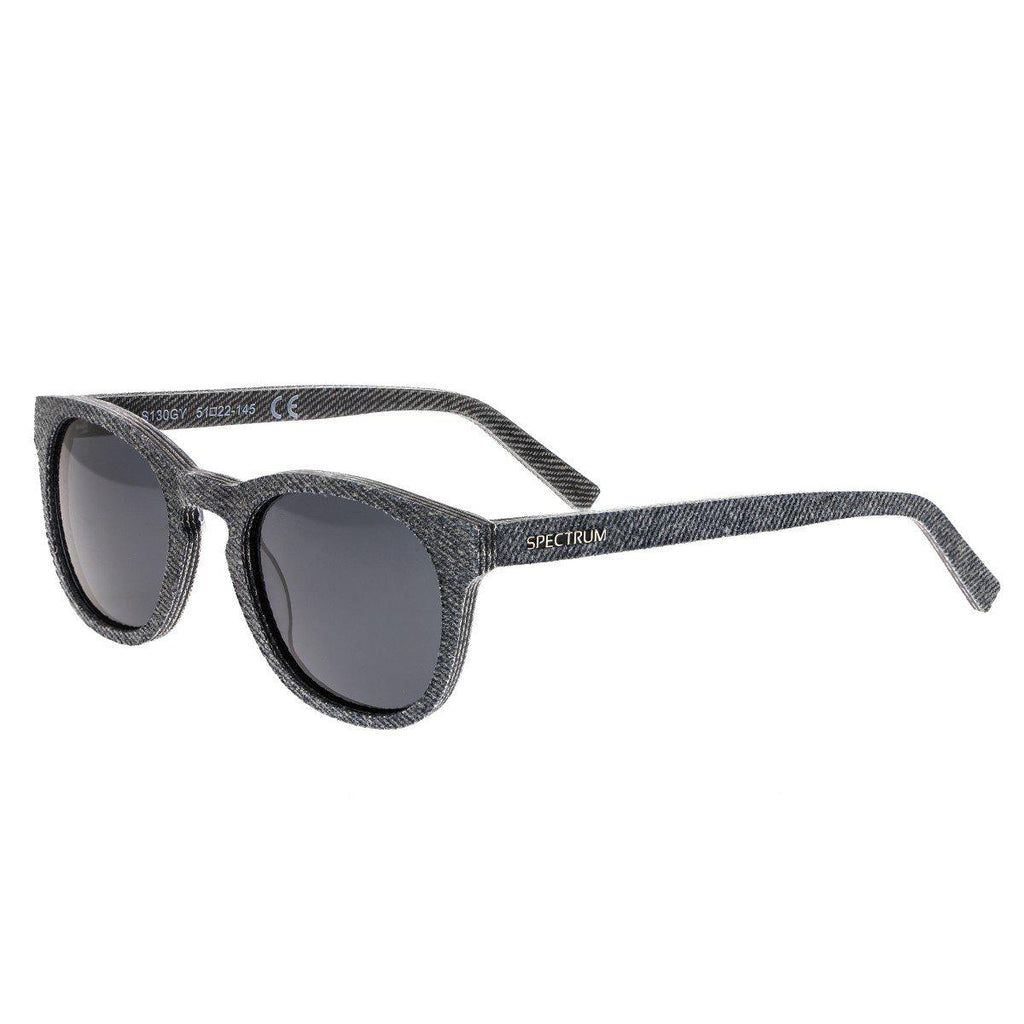 Spectrum North Shore Polarized Denim Sunglasses-Grey-Daily Steals