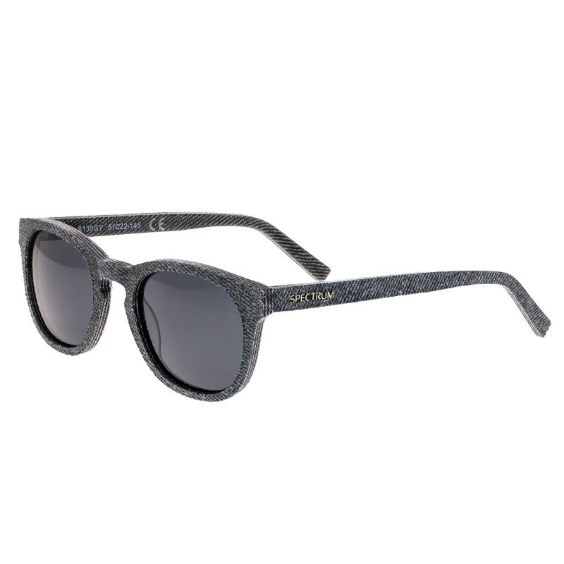 Spectrum North Shore Denim Polarized Unisex Sunglasses 51/22/139-Grey-Daily Steals