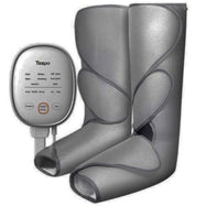 Tespo Leg Massager with Heat Air Compression Wrap & Handheld Controller-Charcoal-Daily Steals
