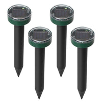 Solar Powered Mole Repeller - 4 Piece Set