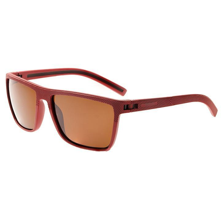 Simplify Dumont Polarized Sunglasses-Red/Black-Daily Steals