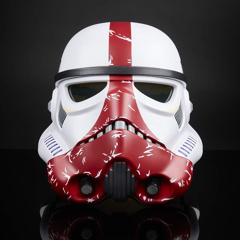 Star Wars Black Series - Incinerator Stormtrooper Premium Electronic Helmet-Daily Steals