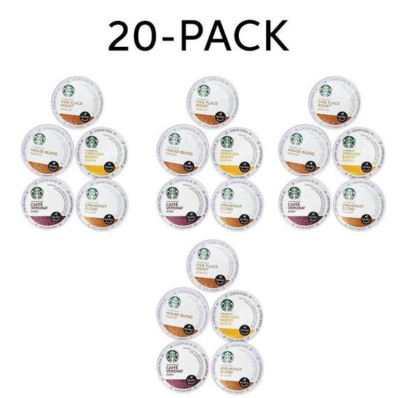 Daily Steals-Starbucks Variety K-Cups pour Keurig Brewers - 20 ou 40 Pack-Foods-20 pack-