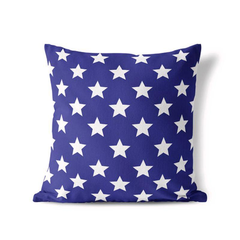 Stars - American Fourth of July Patriotic Pillow Cover-