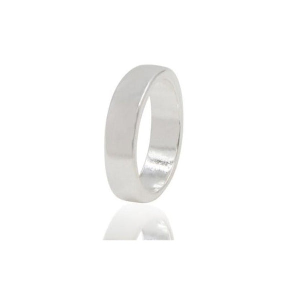 Sterling Silver Rings-10-Square Ring-