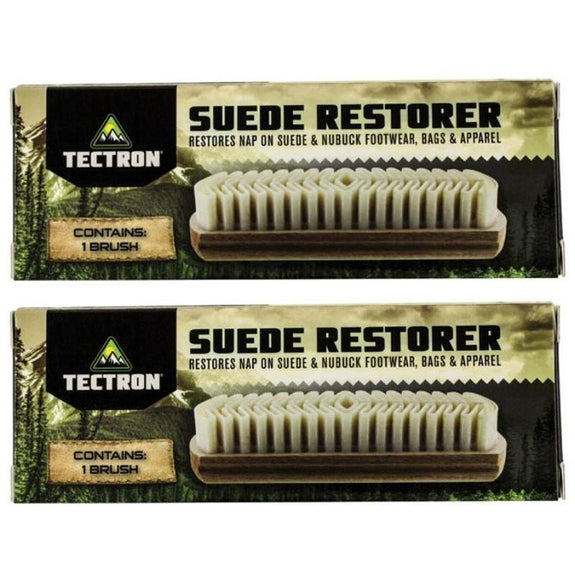 Suede Restorer Brush - 2 Pack-