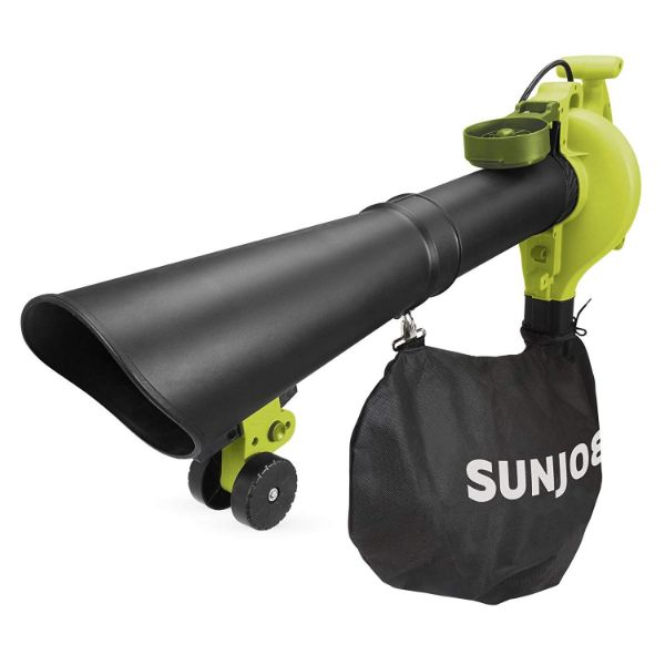 Sun Joe 4-in-1 Electric Blower | 250 MPH 14 Amp | Vacuum Mulcher Gutter Cleaner-Daily Steals