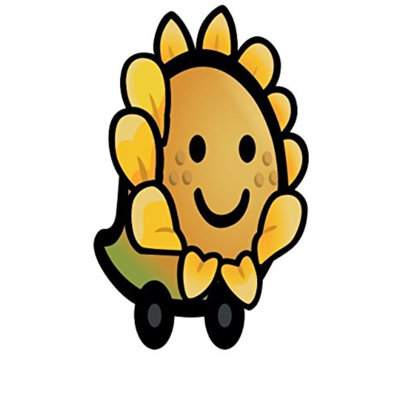 "StickyWaze 6"" Magnetic Vinyl Decal - 2 Pack-SUNFLOWER-Daily Steals"