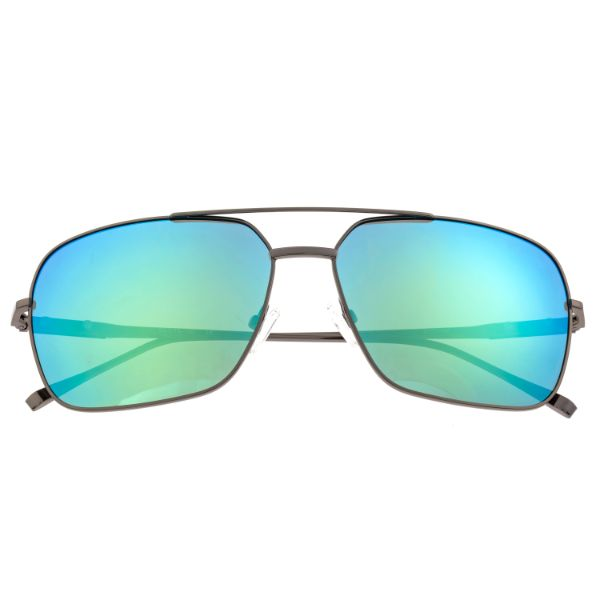 Sixty One Teewah gafas de sol polarizadas-Gunmetal / Blue-Green-Daily Steals