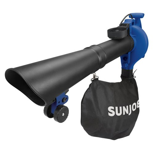 Sun Joe 14AMP 250MPH 4-in-1 Electric Blower/Vaccum/Mulcher/Gutter Cleaner-Blue-Daily Steals