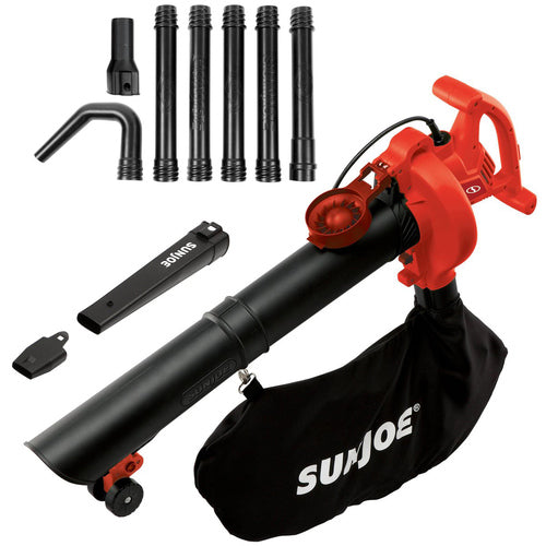 Sun Joe 14AMP 250MPH 4-in-1 Electric Blower/Vaccum/Mulcher/Gutter Cleaner-Daily Steals