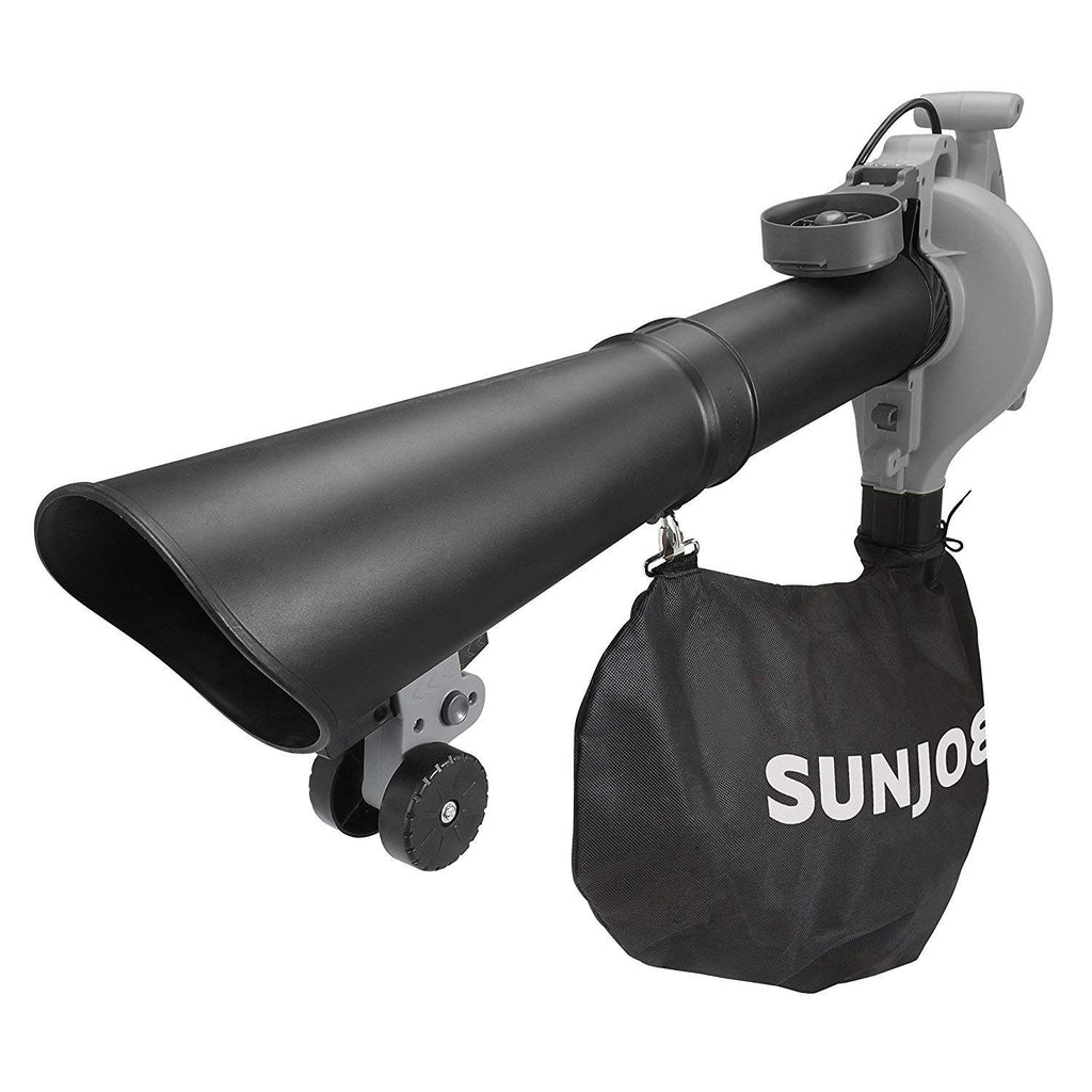 Sun Joe 14AMP 250MPH 4-in-1 Electric Blower/Vaccum/Mulcher/Gutter Cleaner-Grey-Daily Steals