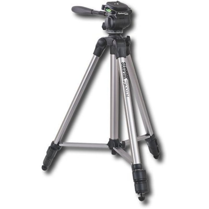 Sunpak Platinum Plus Tri-Monopod, Silver-Daily Steals