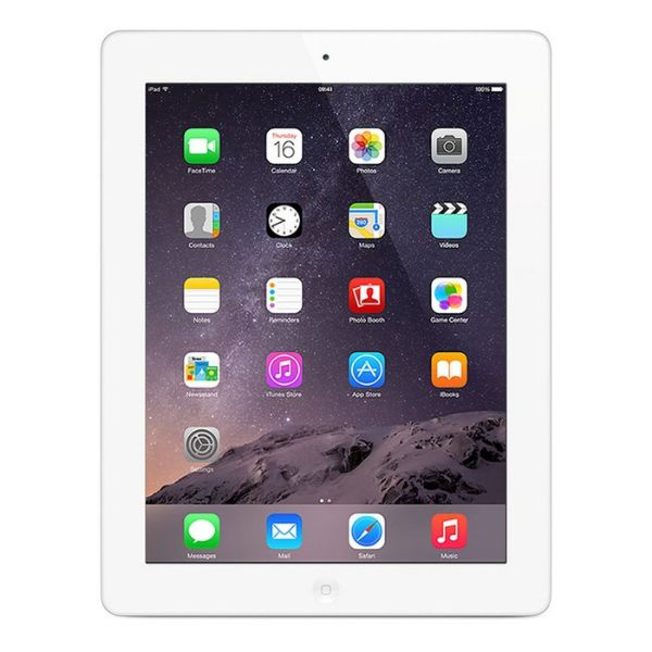 iPad 3 32GB Bundle (Case, Charger, Tempered Glass) - Black or White-White-Daily Steals