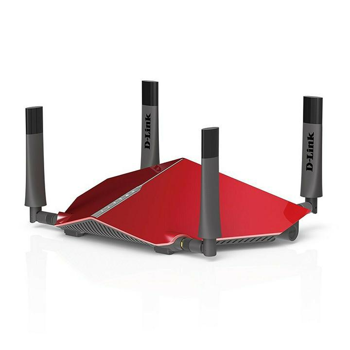 D-Link AC3150 Dual Band Wireless Gigabit Ultra WiFi Router with MU-MIMO and 1.4GHz Dual Core Processor-Daily Steals