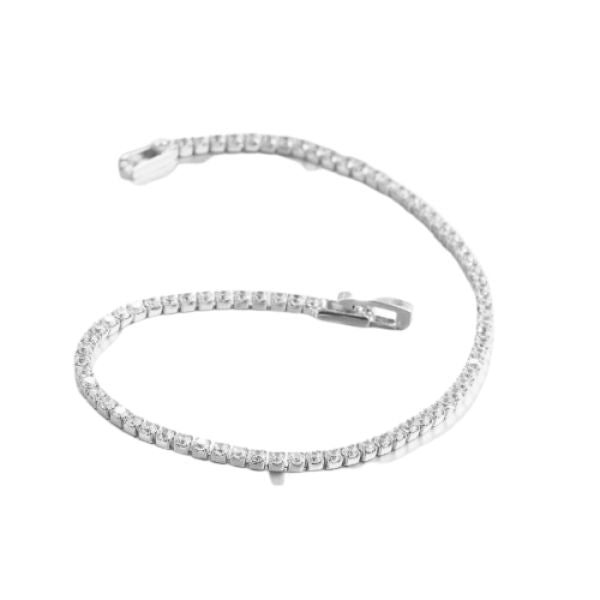 10.00 CT Classic Tennis Bracelet Made with Swarovski Crystals-Daily Steals