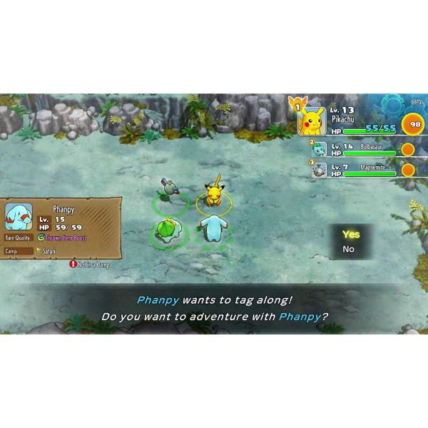 Nintendo Switch - Pokemon Mystery Dungeon: Rescue Team DX - Import Region Free-Daily Steals