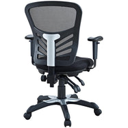 Governor Executive Mesh High-Back Black Adjustable Office Chair-Daily Steals