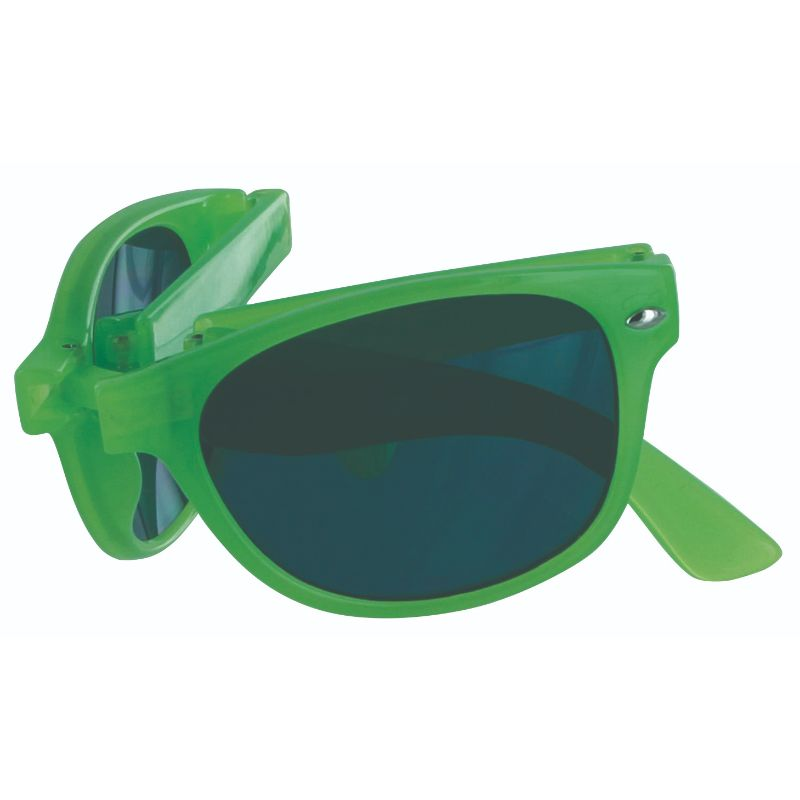 Sizzle Shades Compact Foldable Brightly-Colored Sunglasses