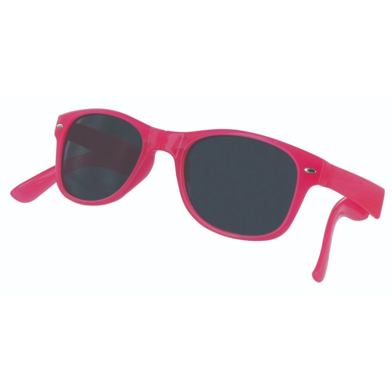 Sizzle Shades Compact Foldable Brightly-Colored Sunglasses-Pink-Daily Steals