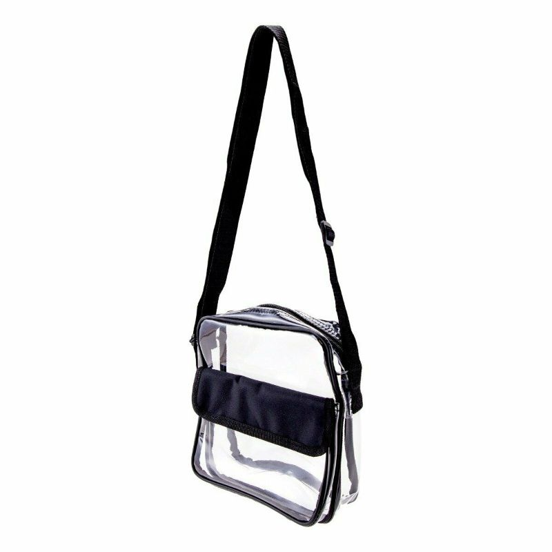 Stadium Approved Clear Crossbody Messenger Bag