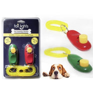 Tail Lights Pet Training Clickers-Green and Red-Daily Steals