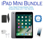 Apple iPad Mini, 1st Generation, WiFi Tablet, FREE Bundle - Black or White-Black-32GB-Daily Steals