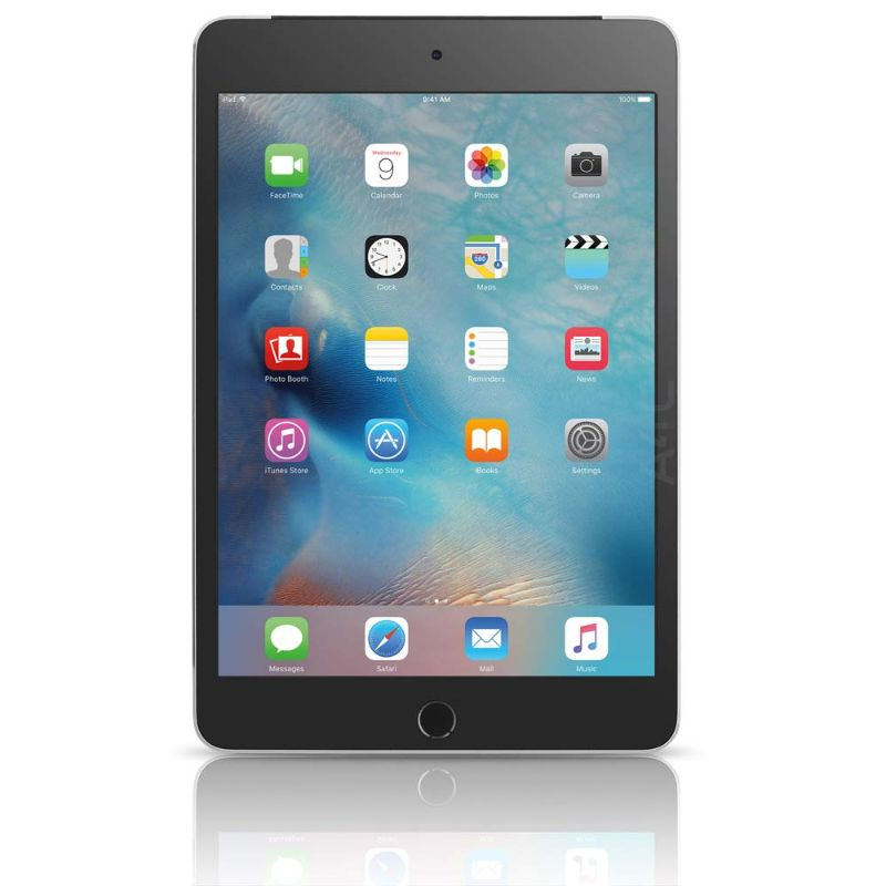 Apple iPad Mini 4 - w/ Tempered Glass, Case and Charger-Space Gray-16GB-Daily Steals