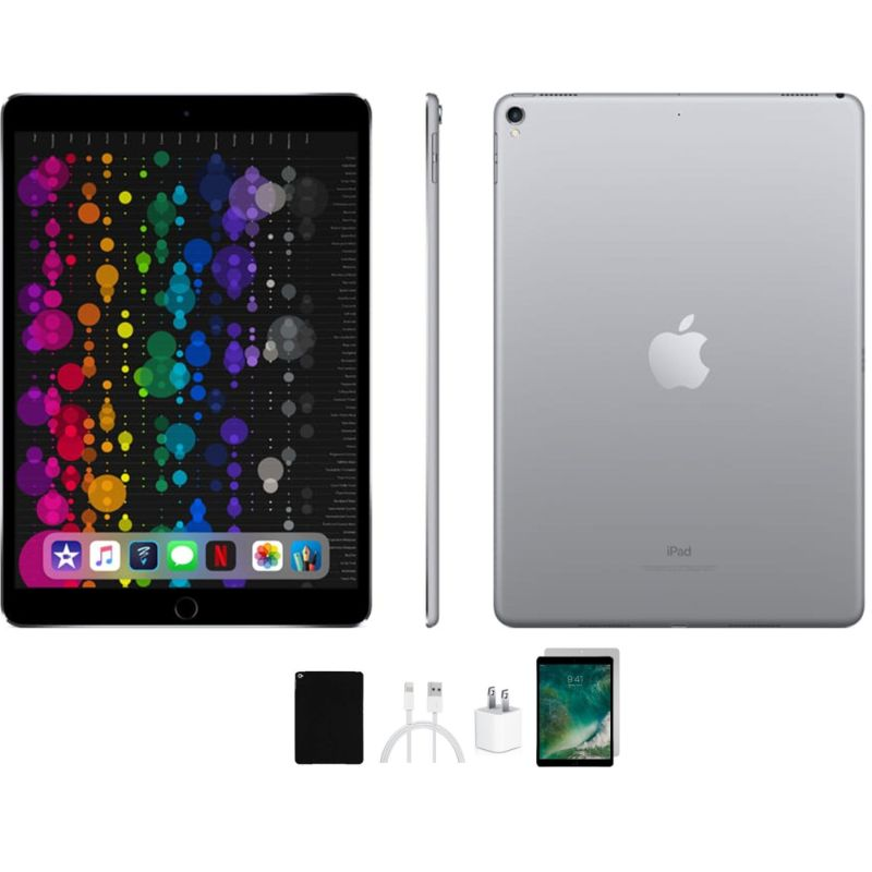 Apple iPad Pro 1st Gen 12.9 inch 128GB Tablet Bundle - Factory Unlocked-Daily Steals