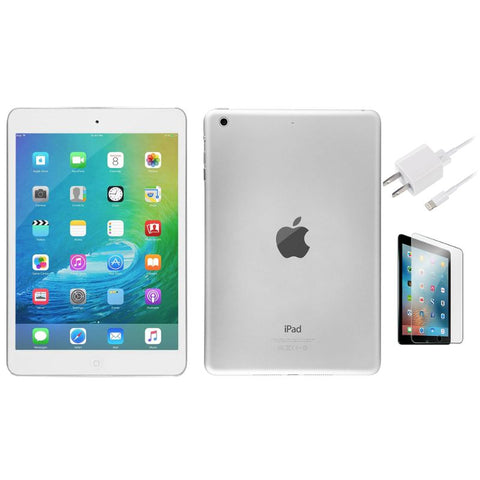 Apple iPad Mini 2 16GB Silver WiFi - Bundle-Daily Steals