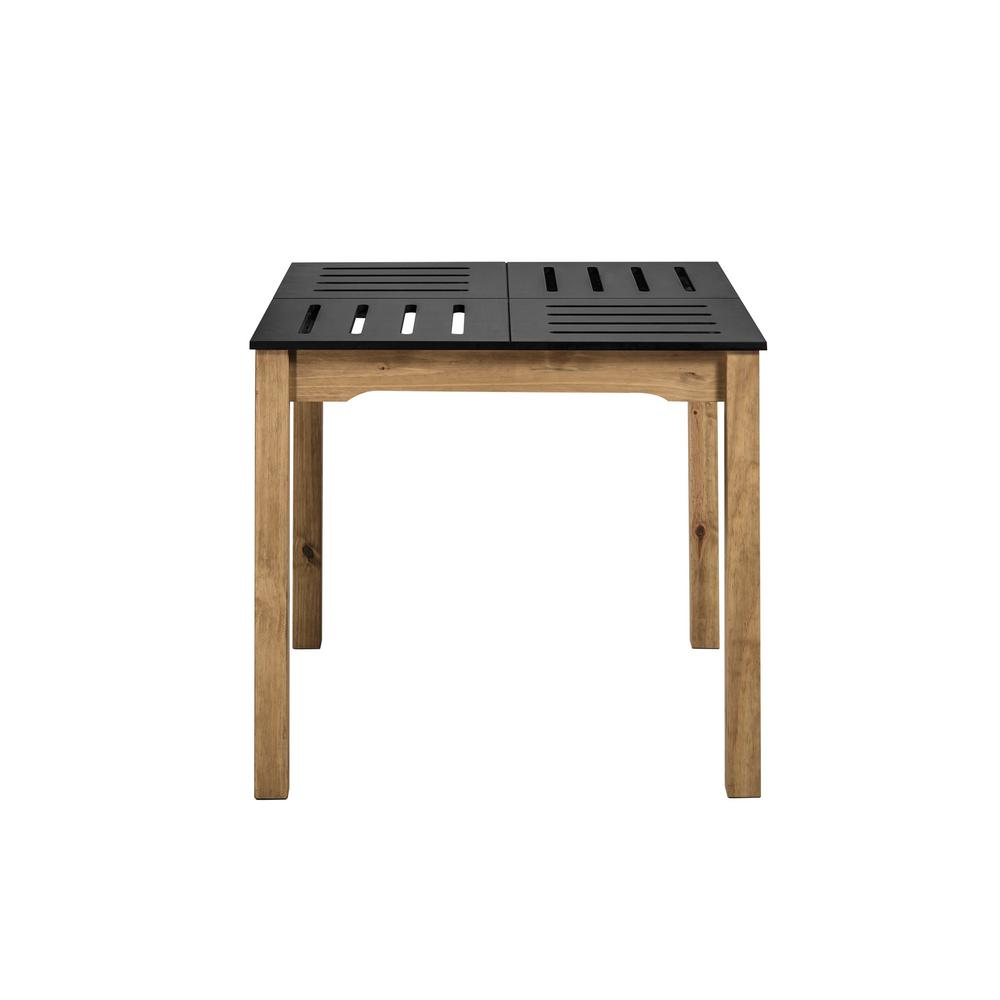 Stillwell Square Dining Table-Black-Daily Steals