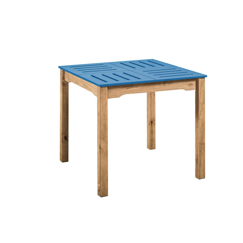 Stillwell Square Dining Table-Blue-Daily Steals