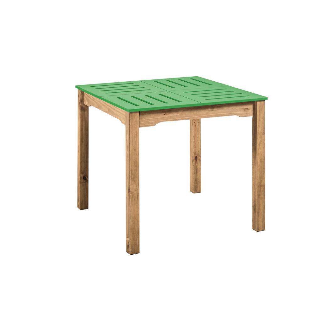 Stillwell Square Dining Table-Green-Daily Steals